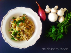 Mushroom Risotto – Easy & Vegan Recipe!