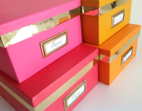Kate Spade Inspired DIY Colorful Boxes & More Inspiration For My Office!
