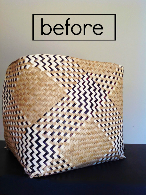 Repurposing A Torn Basket