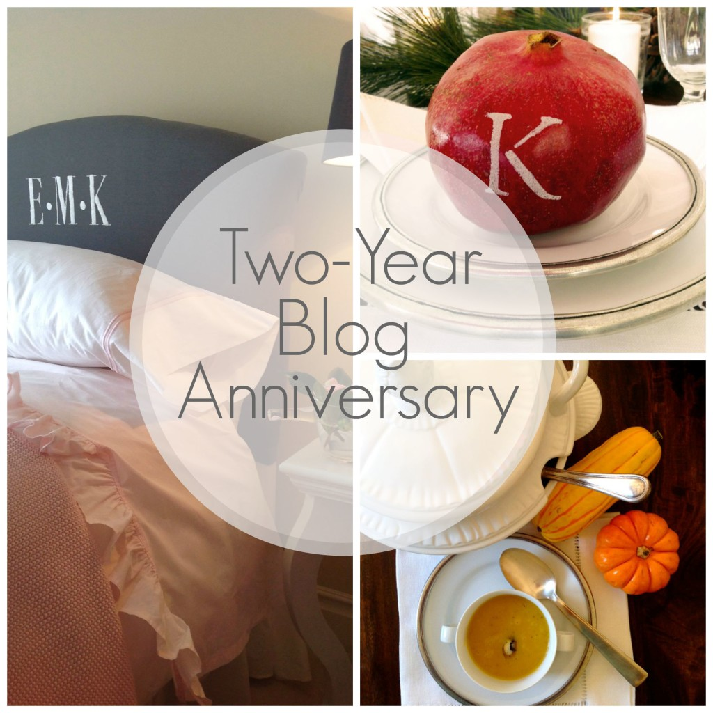 Two-Year Blog Anniversary & The Projects You've Loved The Most
