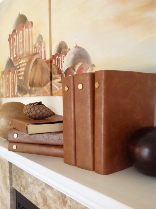 Decorative Leather Bound Books