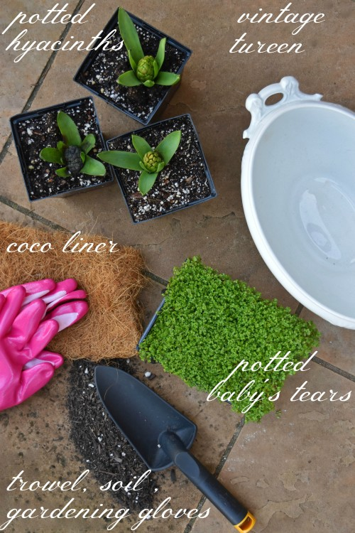 Gather Your Garden Materials iii - mydearirene.com